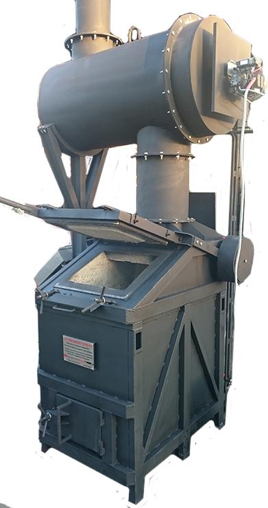Печь кремационная для медицинских отходов УТ100Д
