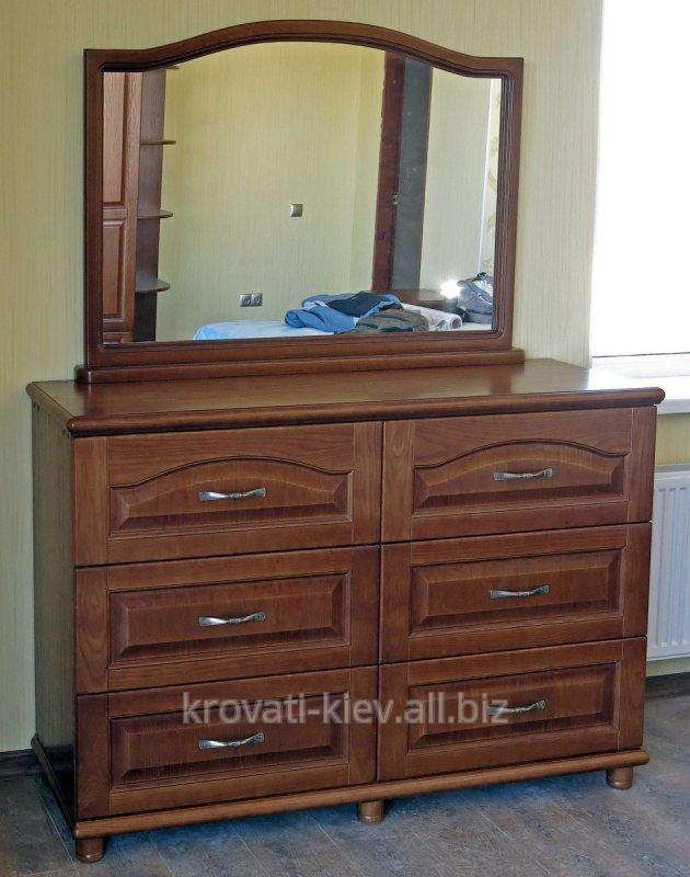 Купить Комод деревянный с зеркалом Харьков