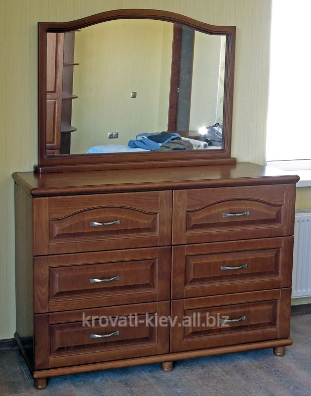 Buy Dresser Kharkiv, wooden with a mirror