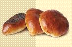 Пирожки сдобные печёные из дрожжевого теста