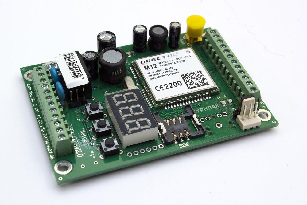 GSM модуль GSS-02