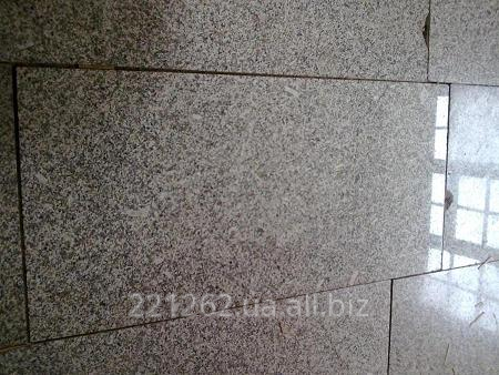 Купить Плитка гранітна облицювальна термооброблена, Жежелівське, темно-сірий, t=50 мм