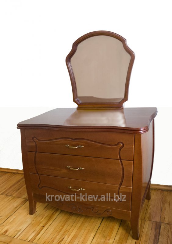 Buy Dresser from the massif of an ash-tree, an oak, an alder with a mirror in Kherson