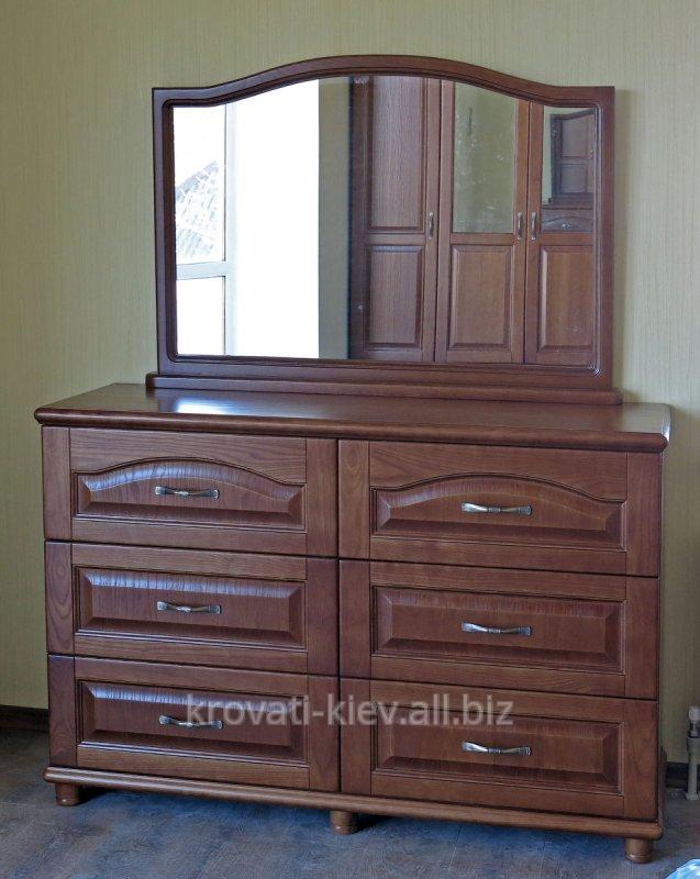 Купить Комод из дерева с зеркалом 6 ящиков в Харькове