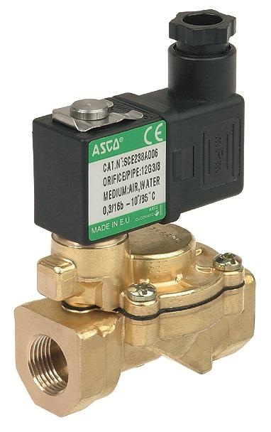 """Купить Клапаны электромагнитые 1 1/4"""" дюйма (Ду=25мм). Клапан электромагнитный для автоматического управления водой, воздухом, нейтральными жидкостями/газами."""