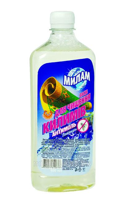 Купить Средство для чистки ковров антимоль МилаМ лаванда 0,5 л