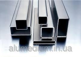 Купить Труба алюминиевая профильная 39,5х20х1,0 / б.п.
