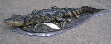 Крокодил, композиция