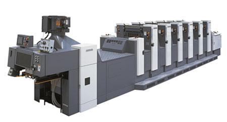 Листовые офсетные печатные машины индустриального класса формата В3 SHINOHARA 52 H-P (P)