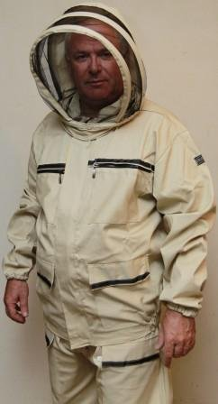 Jacket beekeeper cotton export expansion