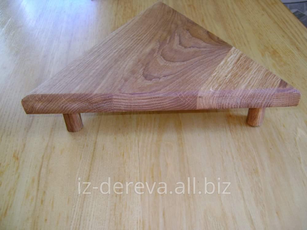 Подставка под кастрюли на кухню, деревянные изделия от производителя