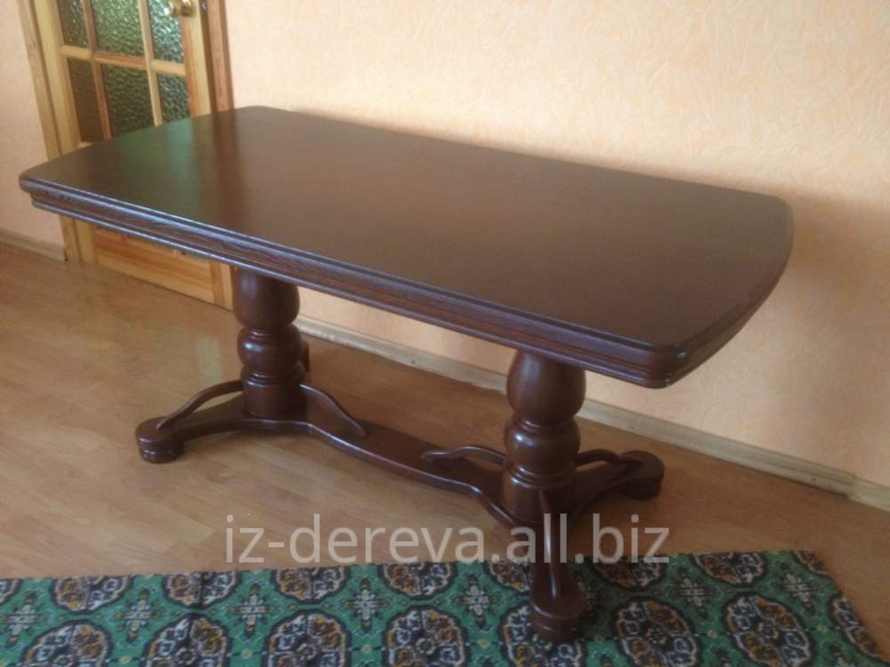 Столы деревянные, натуральные столы из дерева на кухню от производителя