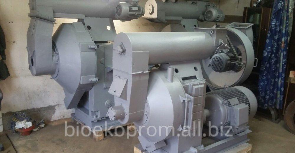Оборудования для производства топливных пеллет из лузги подсолнечника