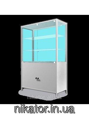 Шкаф медицинский двухстворчатый с сейфом ШМ-2С