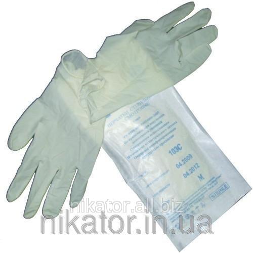Перчатки латексные стерильные хирургические Medicom Safe-touch