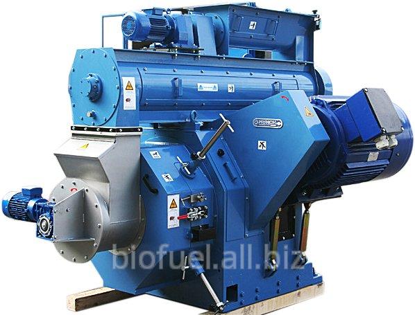 Оборудование для производства гранул из биомасс