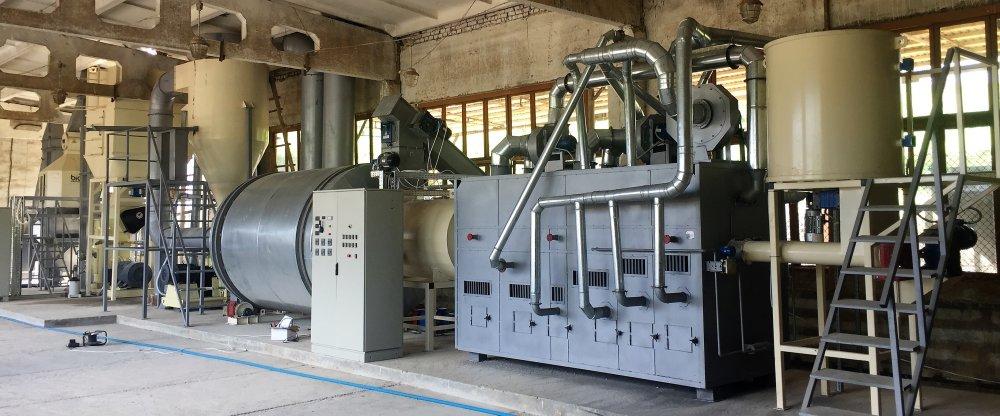 Линия гранулирования 800-1100 кг/ч до 65%