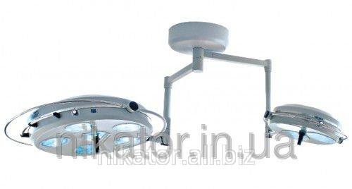 Светильник операционный L2000 6+3-II девятирефлекторный потолочный (два блока, 6+3)