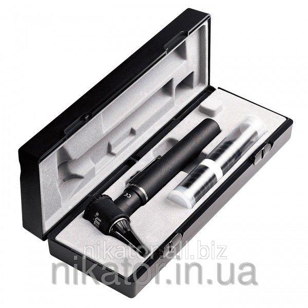 Отоскоп Riester e-scope® фиброоптический, XL 2,5 В черный в кейсе