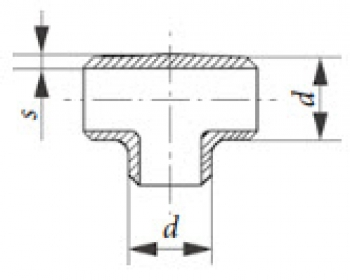 Соединительные элементы T-соединение PN 25, DIN 2615