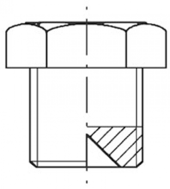 Заглушка PN 40