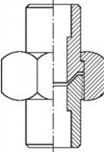Соединение трубно-резьбовое PN 40