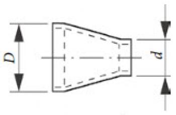 Переходник PN 40 DIN 2616