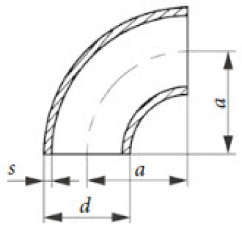 Трубоотвод PN 40, DIN 2605