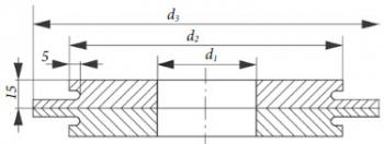 Кольцевое сварочное соединение PN40, для DIN-фланцев