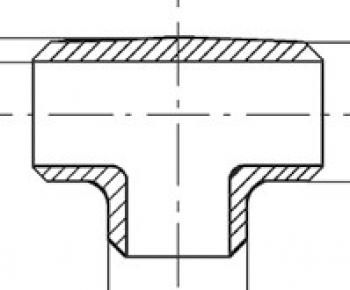Трубоотвод PN40, DIN 2605