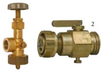 Сливной клапан PN25 для опорожнения емкости