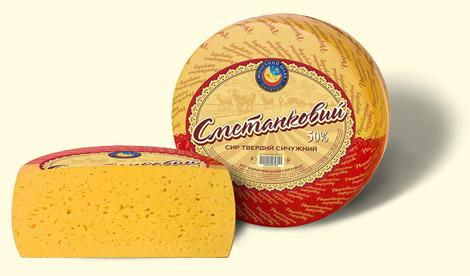 Купить Сыр твердый сметанковый