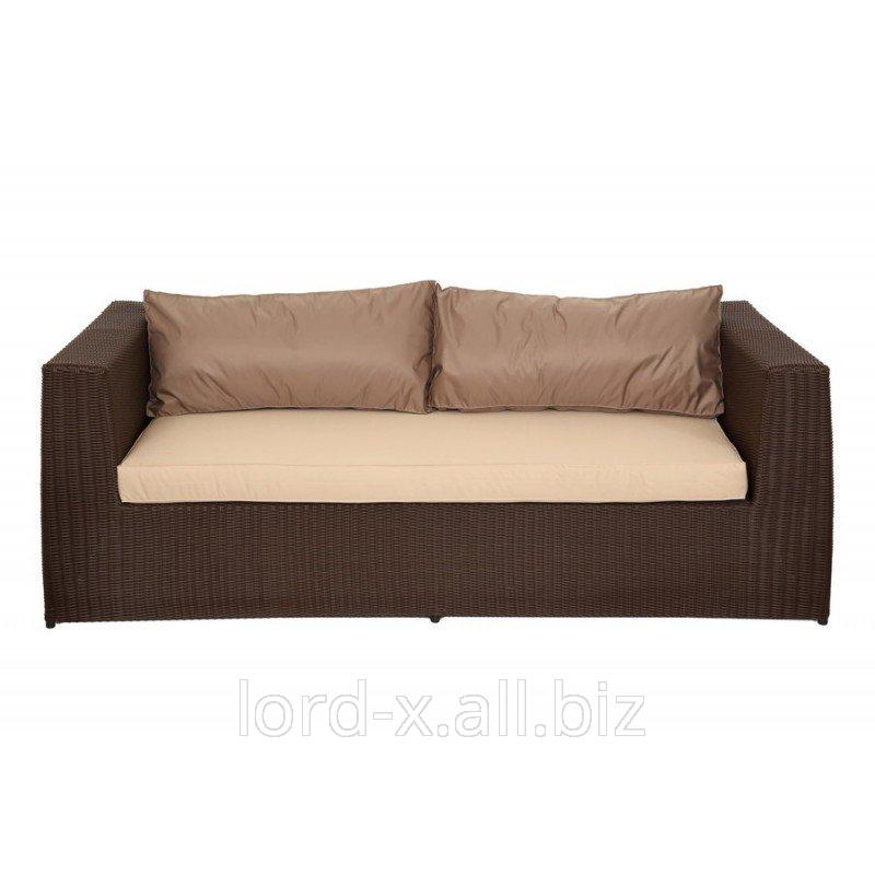 Диван с подушками Мелаж шоколад стандарт