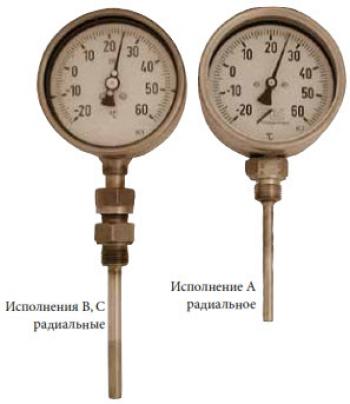 Термометр-указатель PN25