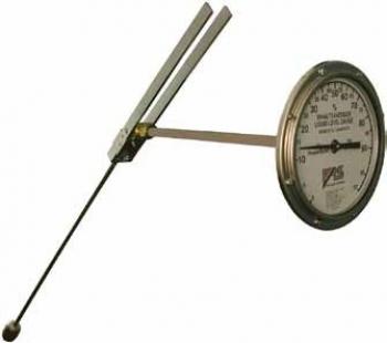 Прибор-указатель уровня для горизонтальных цилиндрических емкостей