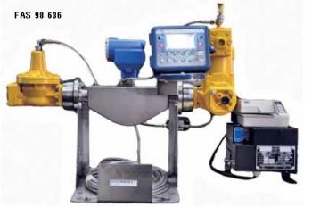 Счетная установка (FAS 98 636) EU (MID) PN25 производительностью до 420 л/мин для установки в газовоз
