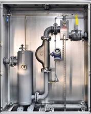 Комплектная счетная установка (FAS 93 9359) для учета СУГ в массовых и/или объемных единицах (с учетом реальной плотности и температуры СУГ), PN25