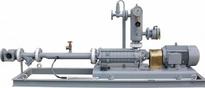 Купить Комплектная самовсасывающая установка тип FAS для подачи пропан-бутана из подземных емкостей к газовым заправочным колонкам и установкой для отвода паровой фазы