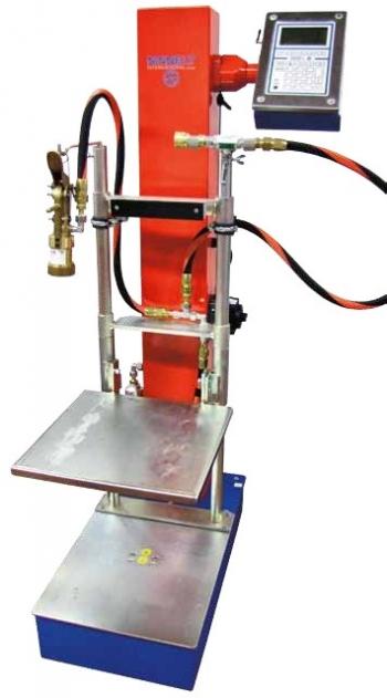 Наполнительная установка для заправки газовых баллонов