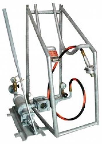Опорожняющая установка PN25 для газового баллона