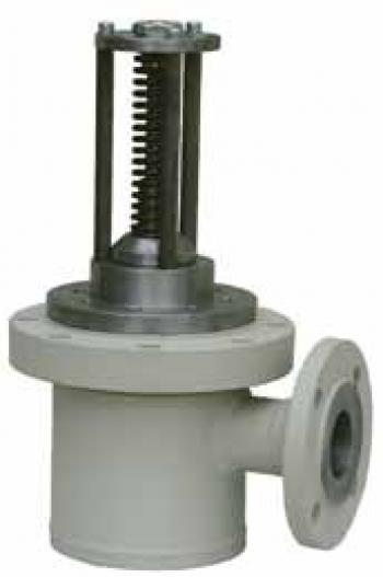 Доннный быстрозакрываемый клапан PN25 для газовозов и стационарных емкостей