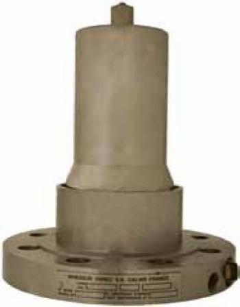 Донный быстрозакрываемый клапан для газовозов и стационарных емкостей