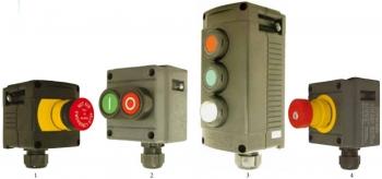 Кнопочный выключатель для управления электроустановкой