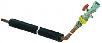 Монтажный узел 45° PN6 для фундаментных плит (до 600 мм)