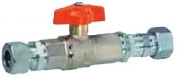 Шаровой клапан PN 5 с термозапорным устройством
