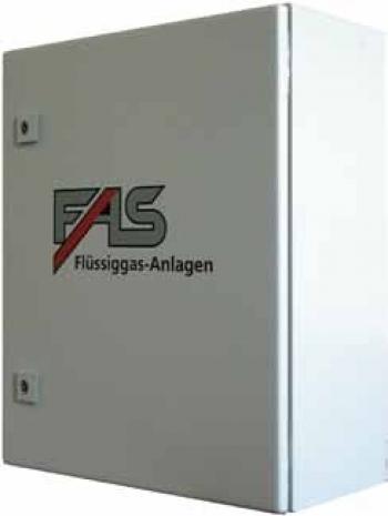 Контрольно-распределительный пункт (КРП) типа FAS-1 для систем автономного и резервного газоснабжения
