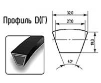 Ремни профиль Д(Г) 32х19мм.