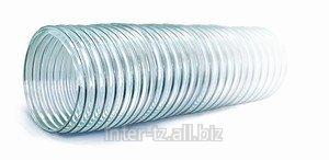 Рукав для пищевых продуктов с метал. спиралью д. 125 мм