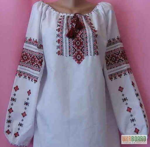 Украинские сорочки вышивки
