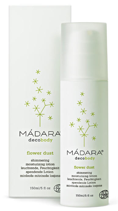 Buy The lotion moisturizing for giving to shine skin on the basis of flower MÁDARA pollen